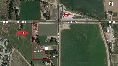 Caldwell Residential Lots & Land New: 11113 Hwy 20/26