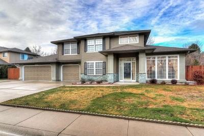 Boise Single Family Home New: 12381 W View Ridge Drive
