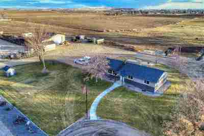 Nampa Single Family Home For Sale: 6205 Deer Flat