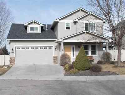 Meridian Single Family Home For Sale: 194 E Baldwin