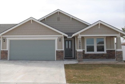 Caldwell Single Family Home For Sale: 14177 Fractus Dr.