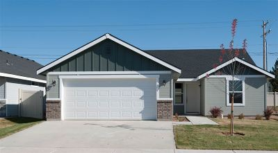Meridian Single Family Home For Sale: Halpin