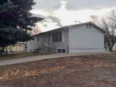 Shoshone Single Family Home For Sale: 315 N Alta St