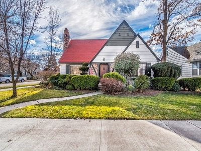 Boise Single Family Home For Sale: 2401 W Ellis Ave