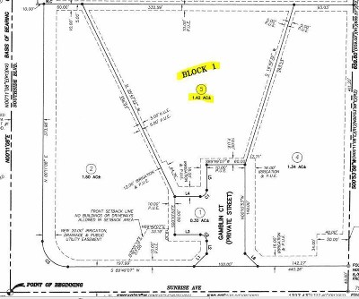 Residential Lots & Land For Sale: 7542 Gamblin Ct.