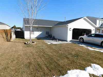 Nampa Single Family Home New: 11944 W Mc Coughlin Ct