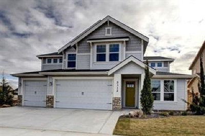 Meridian Single Family Home For Sale: 3917 Woodville Dr.