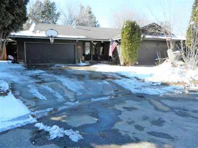 Gooding Single Family Home Price Change: 634 Elm Circle