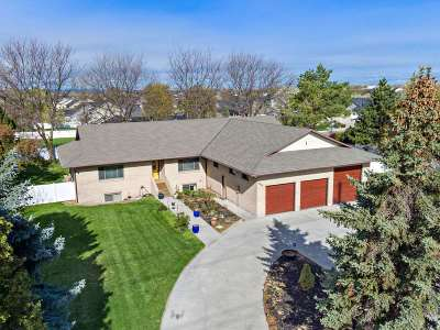Nampa Single Family Home For Sale: 3023 S Happy Valley Rd