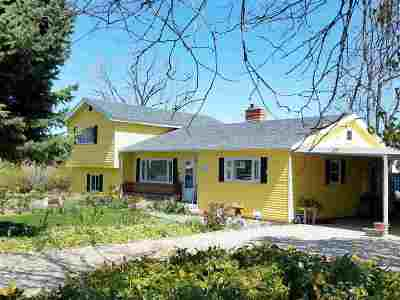 Caldwell Single Family Home For Sale: 18782 Wagner Rd
