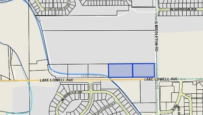 Nampa Residential Lots & Land For Sale: Middleton And Lake Lowell
