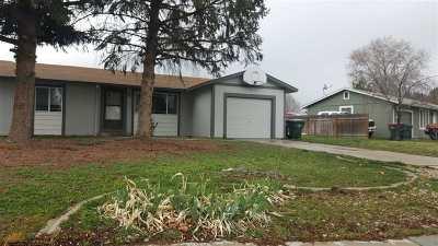 Meridian Single Family Home For Sale: 1504 W Washington