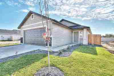Caldwell ID Single Family Home New: $192,990