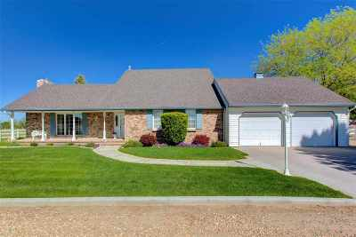 Caldwell Single Family Home New: 21327 Ustick Road