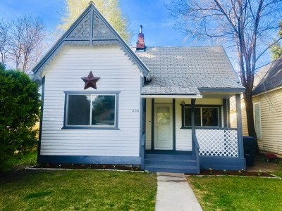 Shoshone Single Family Home For Sale: 206 E C Street