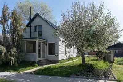 Boise Single Family Home Back on Market: 1906 N 12th