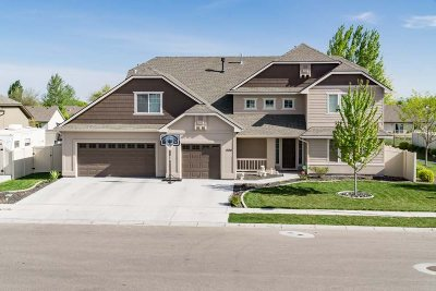 Nampa Single Family Home For Sale: 1524 W Belknap Dr