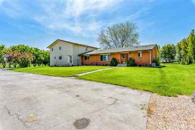 Meridian Single Family Home For Sale: 1345 W Overland