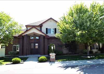 Meridian Single Family Home For Sale: 2846 S Daybreak Ave.
