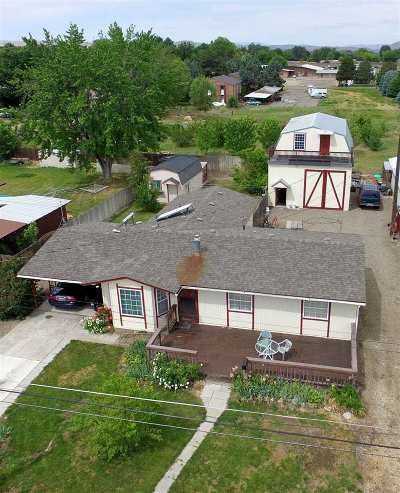 Weiser Single Family Home For Sale: 1237 W 5th
