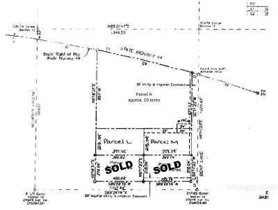 Residential Lots & Land For Sale: Bent Lane -- Parcel M