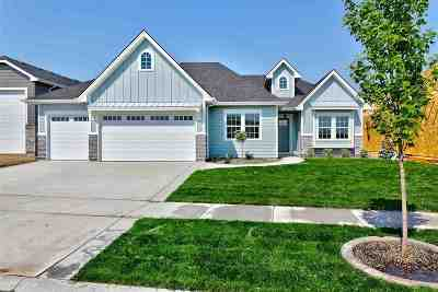 Meridian Single Family Home For Sale: 5001 S Twilight Mist Way