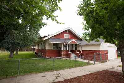 Gooding ID Single Family Home For Sale: $145,000