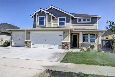 Meridian Single Family Home New: 3846 S Woodville Drive