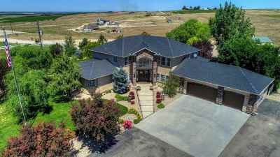 Nampa Single Family Home For Sale: 14600 Deer Flat Rd.