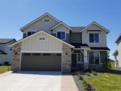 Eagle Single Family Home For Sale: 609 N Chastain Ln.