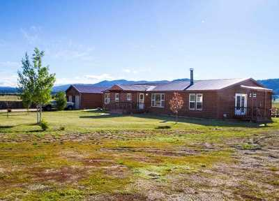 Cascade Single Family Home For Sale: 10116 Round Valley Rd