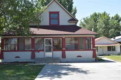 Weiser Single Family Home For Sale: 455 455 1/2 E Main St