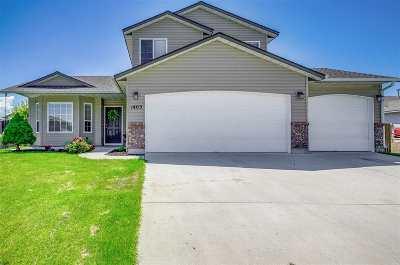 Kuna Single Family Home New: 1403 N Antimony Pl