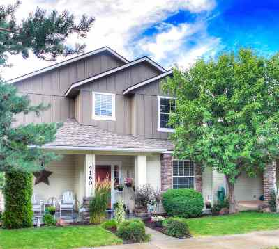 Boise, Eagle, Meridian Single Family Home For Sale: 4160 E Trekker Rim