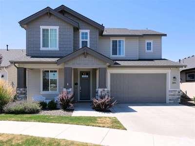 Eagle Single Family Home For Sale: 3441 S Island Fox Ave