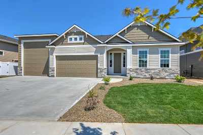 Meridian Single Family Home New: 5088 S Twilight Mist Way