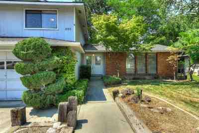 Eagle Single Family Home For Sale: 1225 N Pebble Beach