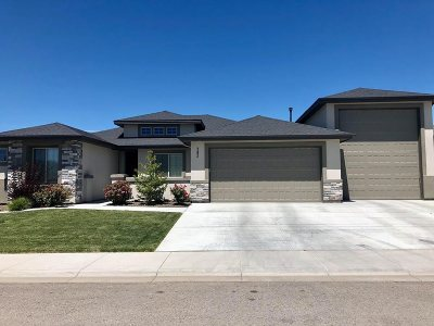 Meridian Single Family Home For Sale: 392 E Whiskey Flats