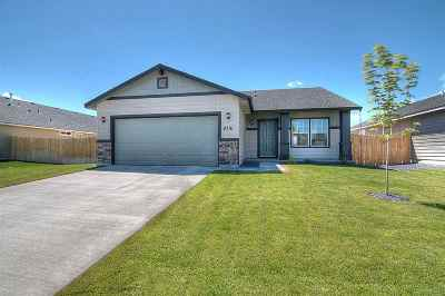 Nampa Single Family Home For Sale: 4609 S Middle Fork Way