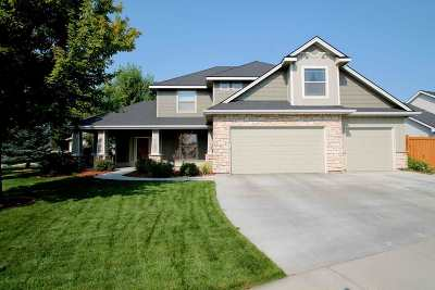 Meridian Single Family Home For Sale: 5793 N Teekem Falls Way