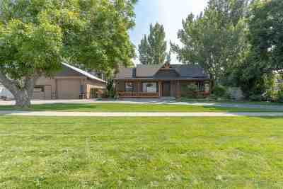 Meridian Single Family Home For Sale: 3875 W Ustick Rd.