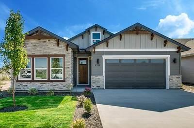 Boise Single Family Home New: 4339 S Metallic