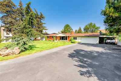 Boise Single Family Home For Sale: 5110 W Hill Road