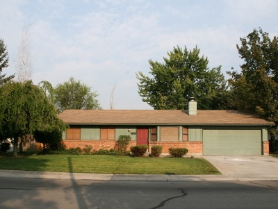 Garden City Single Family Home For Sale: 5797 N Millwright