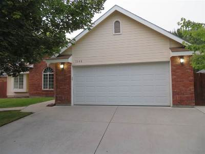 Boise Single Family Home For Sale: 7548 W Jonathan