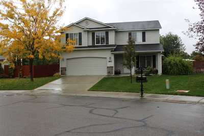 Nampa Single Family Home New: 663 W Crimson Loop