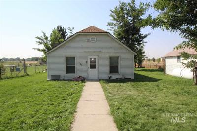Bliss Single Family Home For Sale: 165 Iowa St.