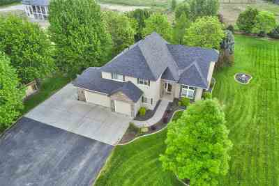 Eagle Single Family Home For Sale: 1460 W Rush Rd