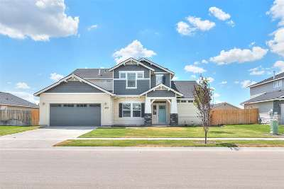 Kuna Single Family Home For Sale: 1680 N Veridian Ave.