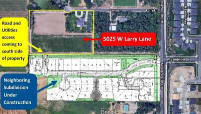 Meridian Residential Lots & Land For Sale: 5025 W Larry